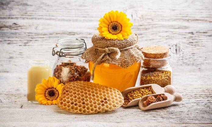 ผลิตภัณฑ์ที่ได้จากผึ้ง